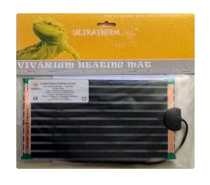 Manta termica calor para animales y reptiles 7W de 27 x 14 cm