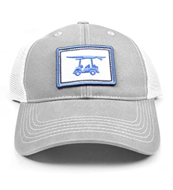 bald head blues grey trucker hat grey at amazon men s clothing store