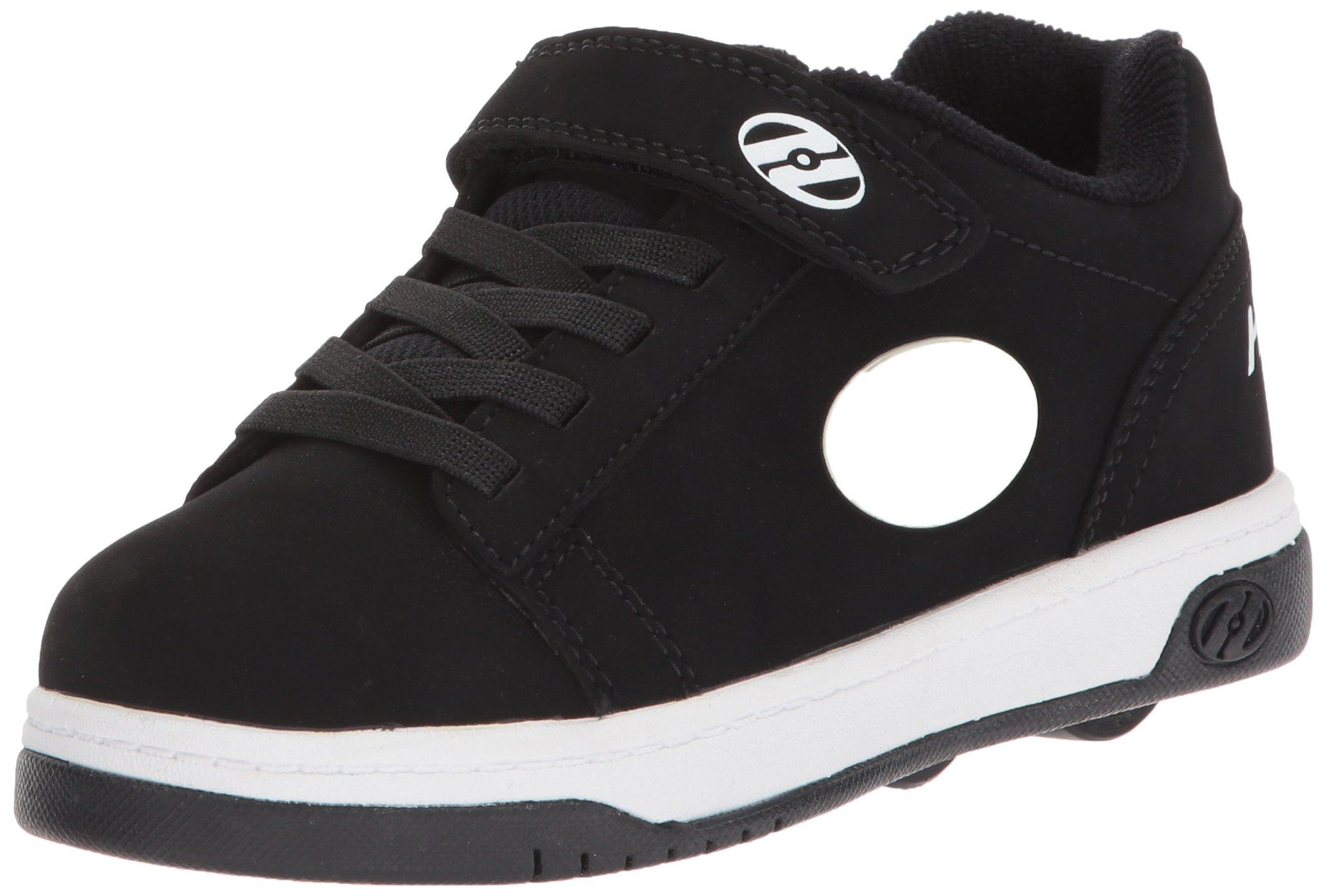 Heelys Boys' Dual UP X4, Black/White, 1