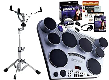 Yamaha DD65 Digital Drums With Survival Kit and SS662 Snare Stand ... 46f246717e