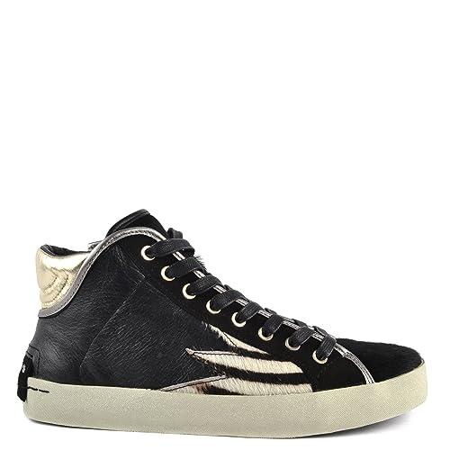 Crime London metallic hi-top sneakers Aclaramiento De Italia Rojo Eastbay Fin De Pre yHWX5NTKUm