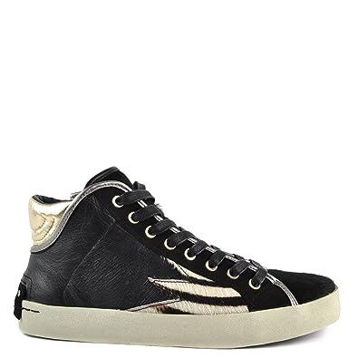 Amazon 40 Borse Crime it Top Nero London Hi Donna E Sneaker Faith Scarpe Nero vnpvZU4