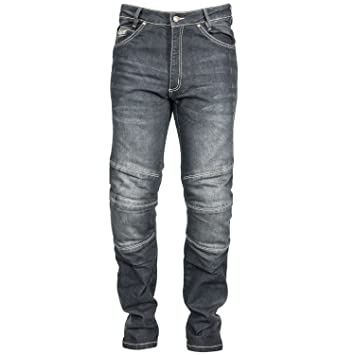 Racer Jeans Pantalones de moto mujer Touring cordura Denim ...