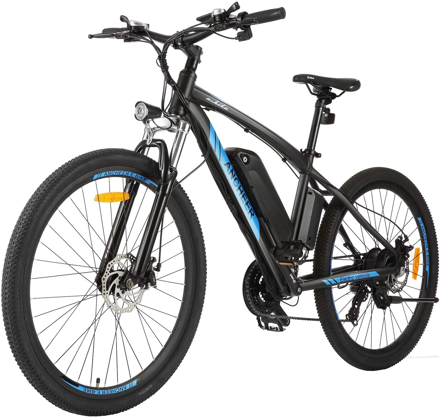 ANCHEER 27.5″ Electric Mountain Bike for Adults, 250W E-bike with 36V 10Ah Lithium-Ion Battery WAS £889.99 + £20 delivery NOW £839.99 delivery + £20 with £50 voucher on listing @ Amazon
