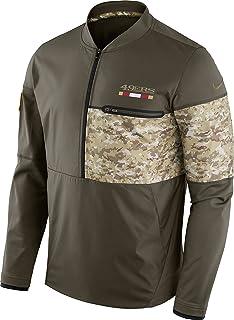 San Francisco 49ers NFL Salute to Service Sideline Men s Hybrid Jacket 71cbdde56