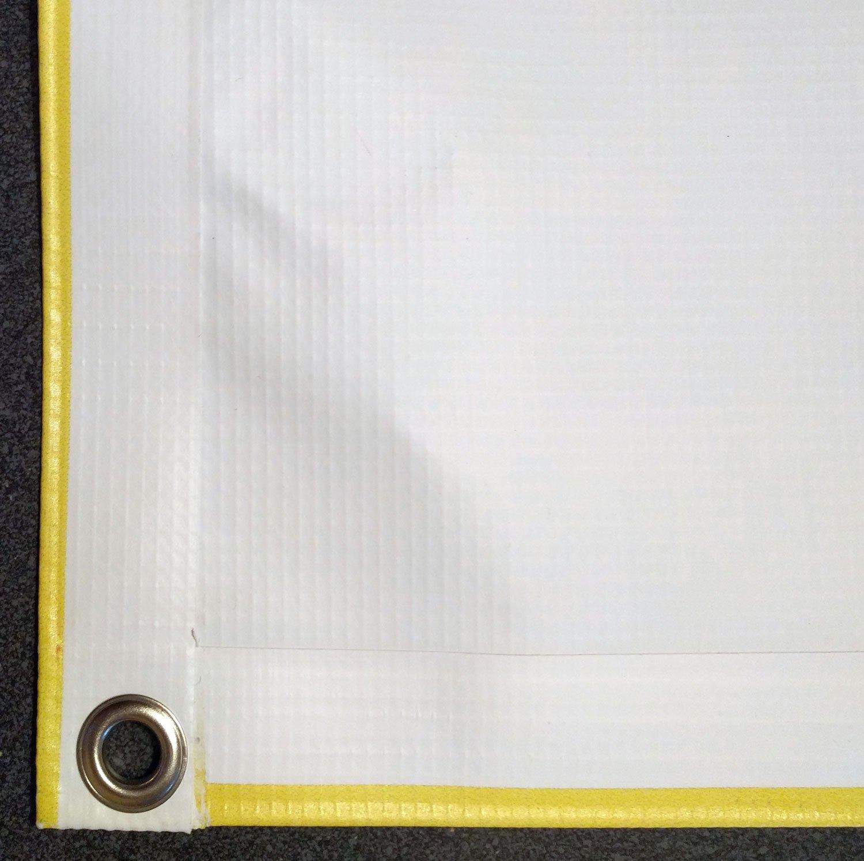 Custom Sized Orange Lava Pixel Mine Blocks Replacement Tarp  Canopy for Playset: Up to 70 Sq Ft Tarp Size by Monkey Bar Tarps LLC (Image #4)