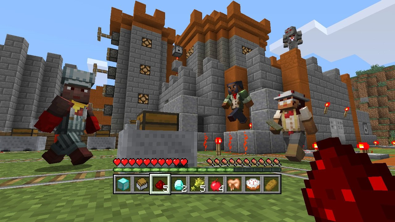 Minecraft - DLC,  Redstone Specialists Skin Pack - Wii U [Digital Code] by Mojang AB (Image #4)