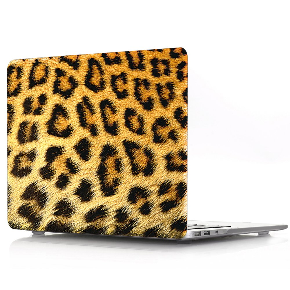W//O CD-ROM HRH 2 in 1 3D Tortoise Laptop Body Shell Protective PC Hard Case Cover Match Silicone Keyboard Cover for MacBook Pro 13.3with Retina Display A1502//A1425 Release 2015//2014//2013//end 2012