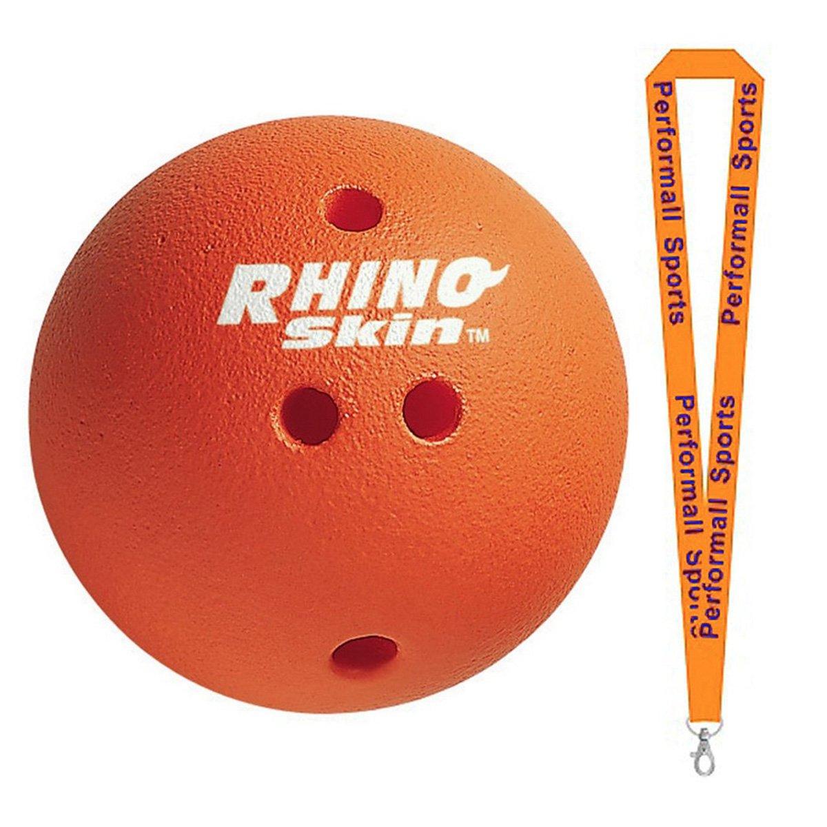 当店だけの限定モデル ChampionスポーツRhinoスキン1.5 LBボーリングボールレッドwith 1 performall Lanyard rsbx-1p   B01FSZ6XIO, 風船唐綿 e7b34d3d