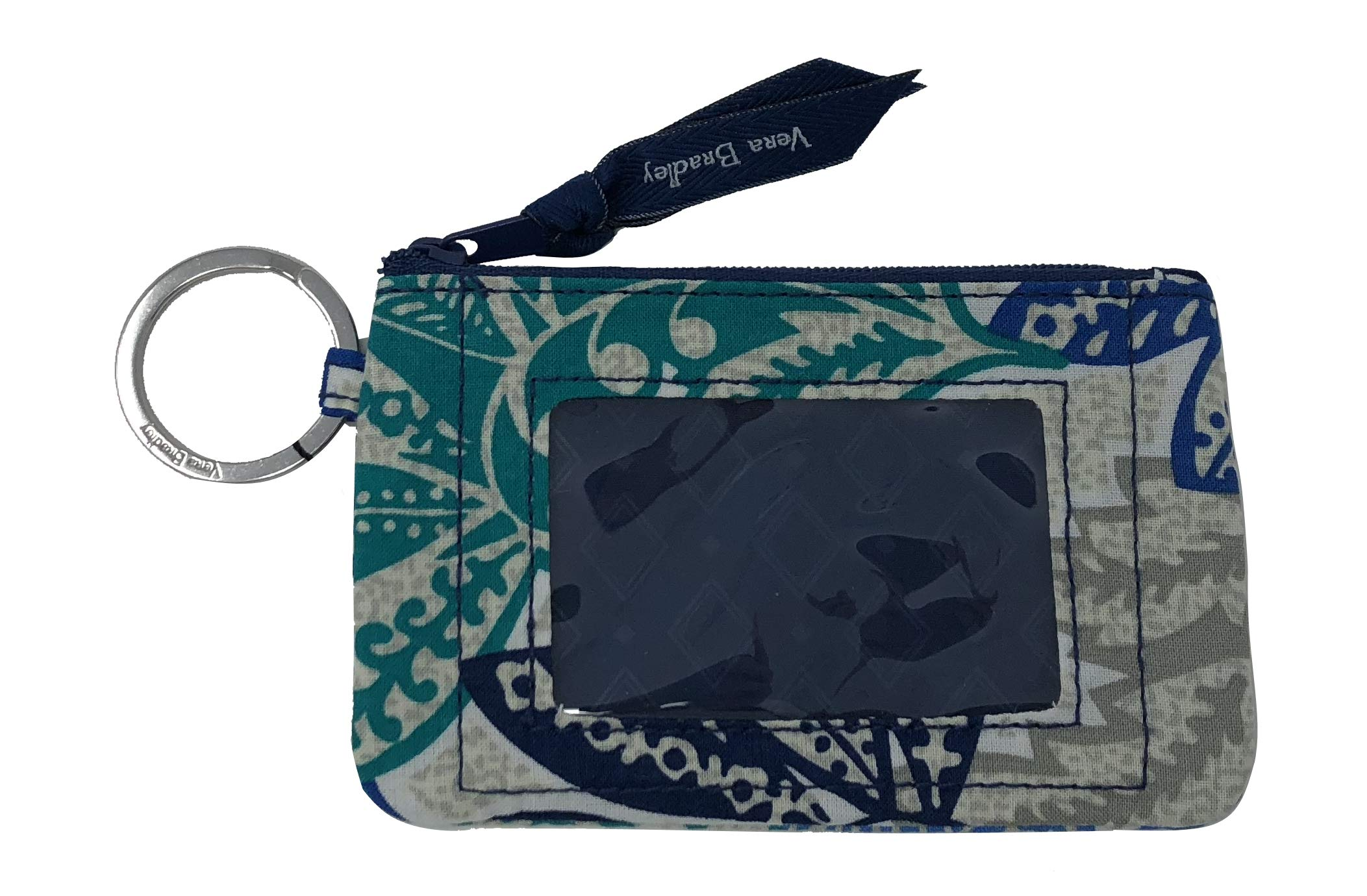 Vera Bradley Women's Zip ID Case (Santiago) by Vera Bradley