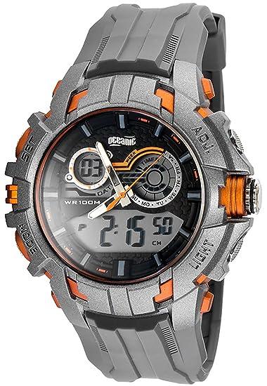 Oceanic Deportivo Reloj para Hombres y Juventud,Digital y analógico,Resistente al agua 100m