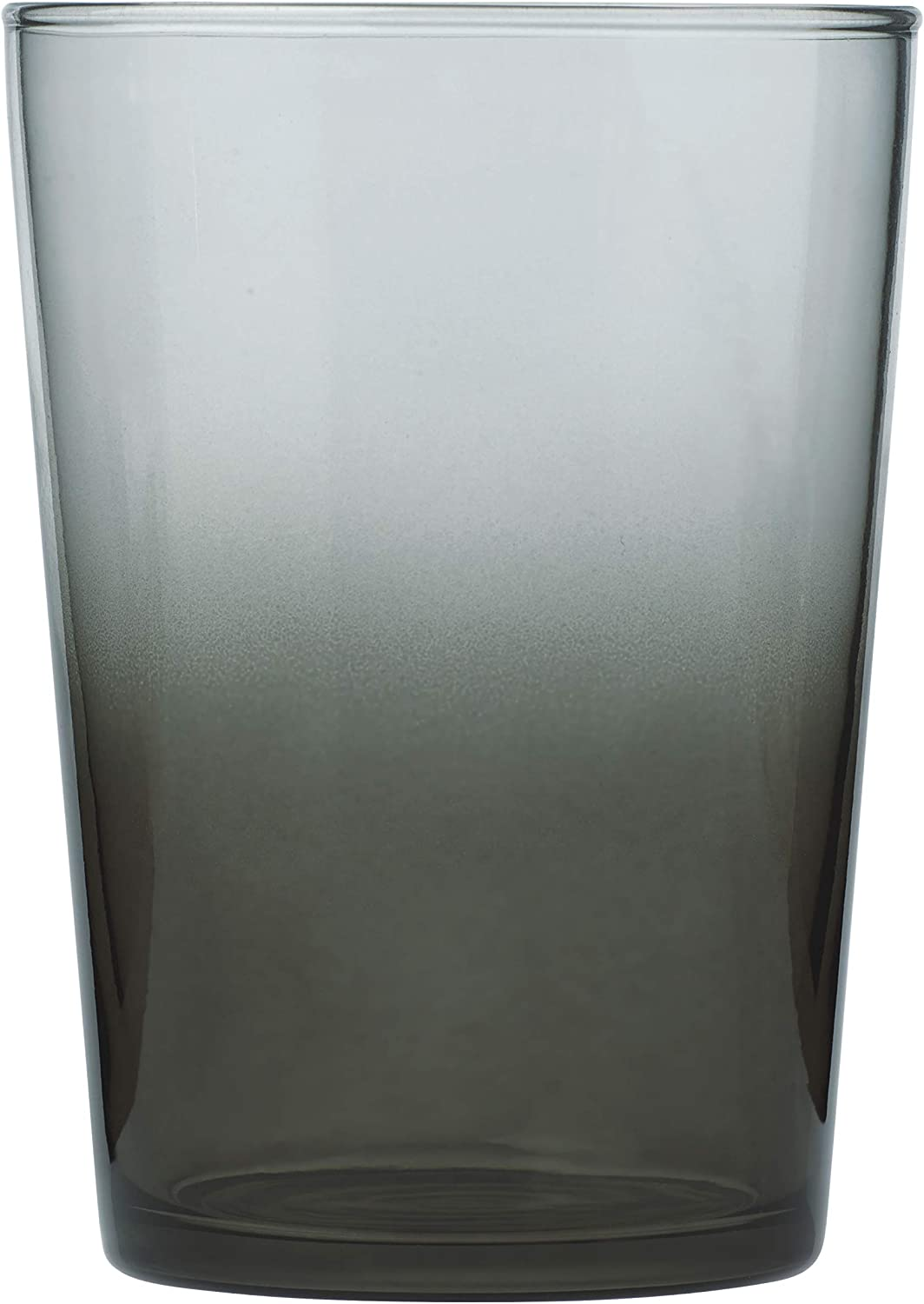 Arc Cardinal Arcoroc Essentials Fully Tempered Beverage Glass, Grey, 17-Ounce, 6-Pack