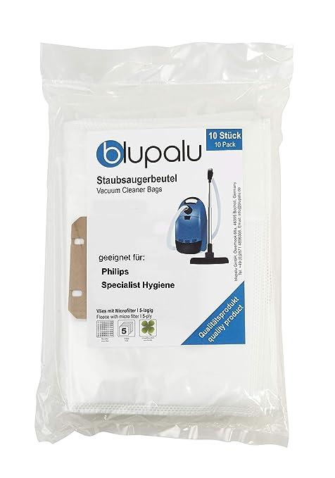 blupalu I Aspiradora Bolsas para Aspirador Philips ...