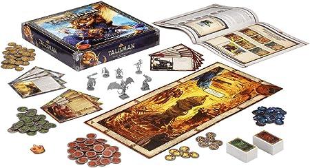 Pegasus Spiele 56206E Talisman - The Dragon (expansión): Amazon.es: Juguetes y juegos