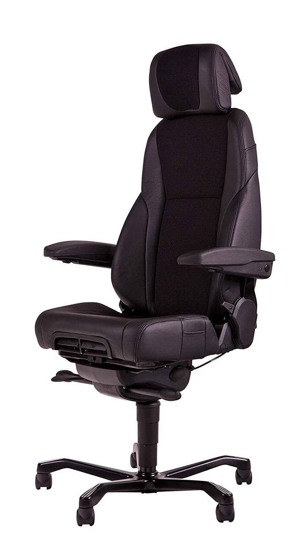 Schwerlast Bürostuhl Schreibtischstuhl Drehstuhl Chefsessel Designer Bürodrehstuhl Jumbo bis 200kg/ 24h/Tag