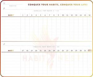 Whiteboard Habit Tracker by Habit Nest