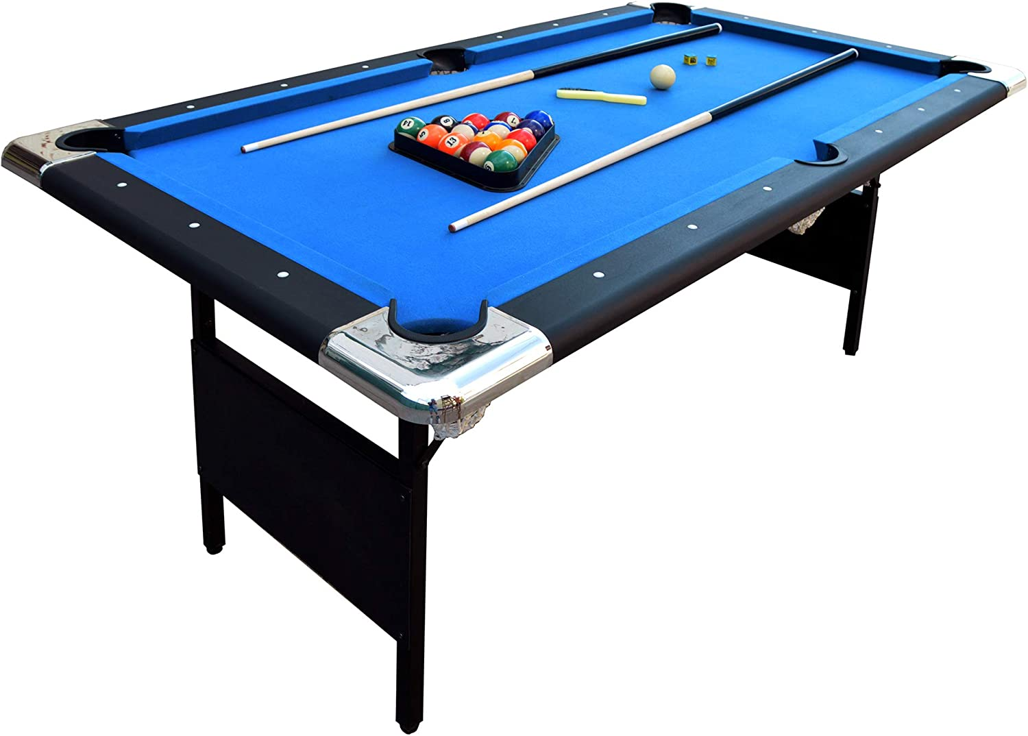 - Amazon.com : Hathaway Fairmont Portable 6-Ft Pool Table For