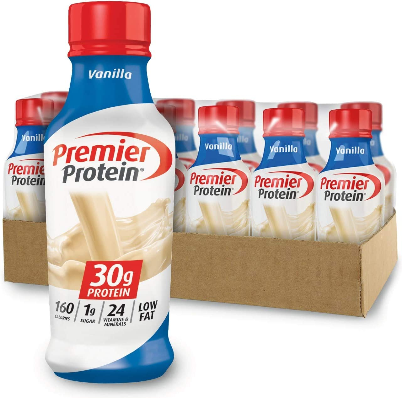 Premier Protein 30g Protein Shake, Chocolate, 14 Fl Oz (Pack of 12) bottle: Health & Personal Care