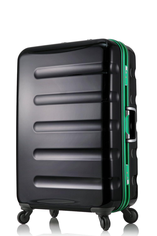 【レジェンドウォーカー】LEGEND WALKER スーツケース アルミフレーム 鏡面ボディ TSAロック 軽量 機内持込~大型 B01LZ5BNF7 Mサイズ-60cm(3~5日)|ブラックグリーン ブラックグリーン Mサイズ-60cm(3~5日)