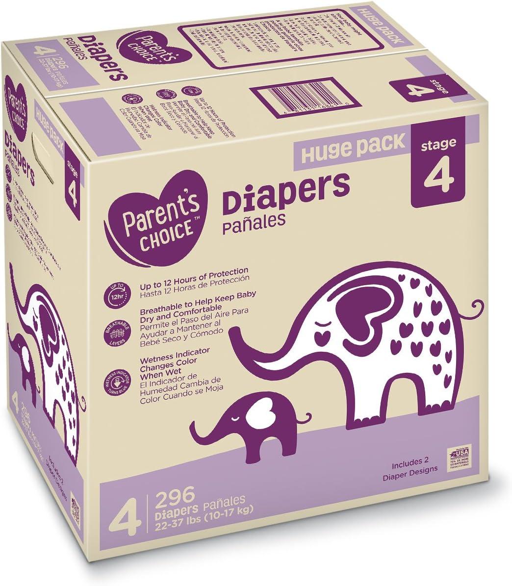 Parent/'s Choice Diapers Size 5 280 Diapers Mega Box