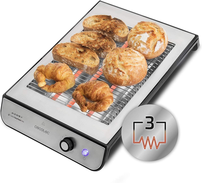 Cecotec Robot de Cocina Multifunción Mambo 7090 + Tostador Plano Horizontal Turbo Easy Toast Inox: Amazon.es: Hogar