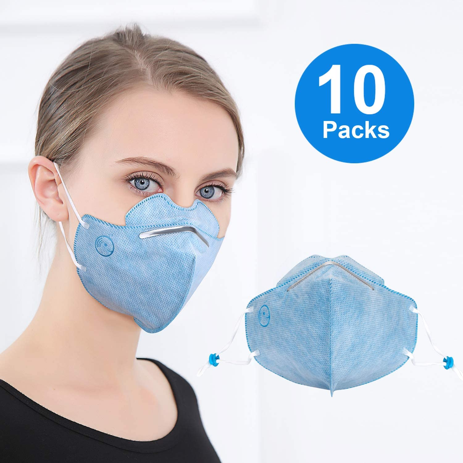 - N95 Particulate Dust Face Respirator Disposable Mask