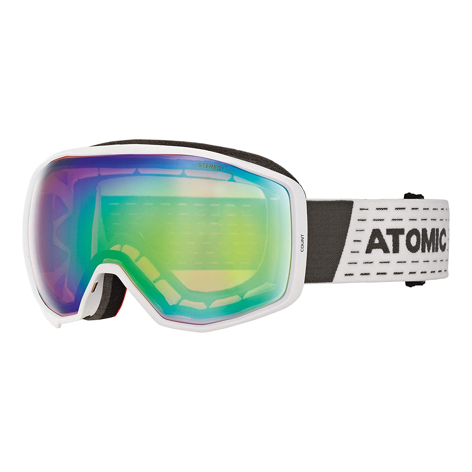 Technology for Moderate Brightness ATOMIC Mountain Ski Mask Count 360 Degree HD Dual Spherical Screen FDL