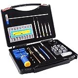 Ohuhu 19 PCS Watch Repair Tool Kit Case, Professional Spring Bar Tool Set, Watch Band Link Pin Tools