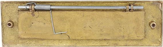 con informaci/ón de entrada y salida 20 x 30 cm placa de metal Se/ñal de aluminio para entrar//salir color blanco placa de pared