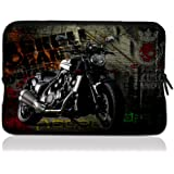 """ToLuLu® Violent motorcycle 12.5"""" 13"""" 13.3"""" inch Notebook Laptop Case Sleeve Carrying bag for Apple Macbook pro 13 Air 13/ Samsung 900X3 530 535U3/Dell XPS 13 Vostro 3360 Latitude E6230/ ASUS UX32 UX31 U36 X35 /SONY SD4 13/ ACER 13/ThinkPad X1 L330 E330"""