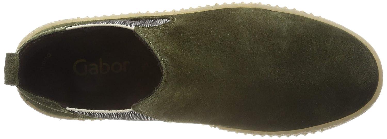 Gabor (Moos Damen Jollys Schlupfstiefel Grün (Moos Gabor (Natur) 14) 380f43