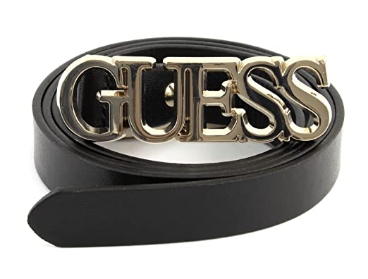 3dcba0ae7b38 GUESS Not Coordinated Adjustable Belt W95 Black - kürzbar  Amazon.co ...