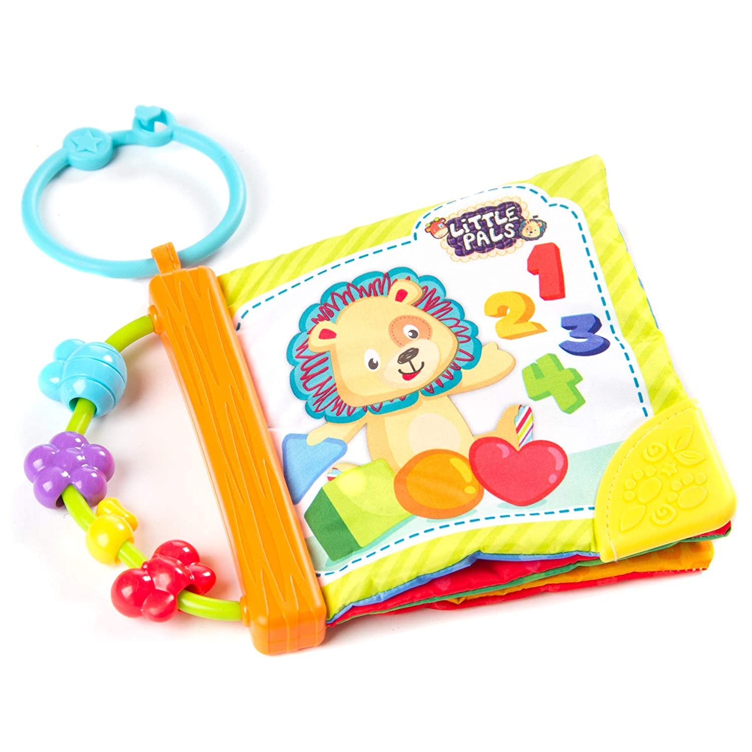Fat Brain Toys Squishy Soft Discovery Book