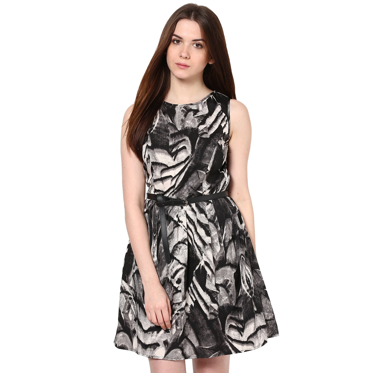 2b128fc0a5 La Zoire Women s Dress  Amazon.in  Clothing   Accessories