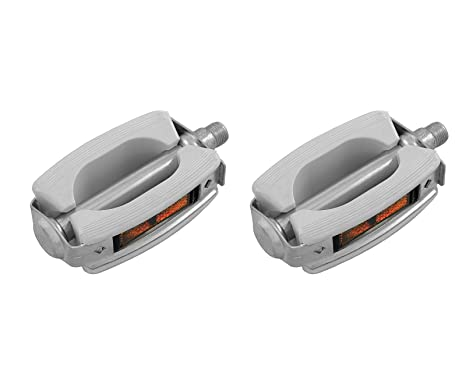 Amazon com : PAIR OF UNION VINTAGE PEDALS WHITE BIKE MOPED