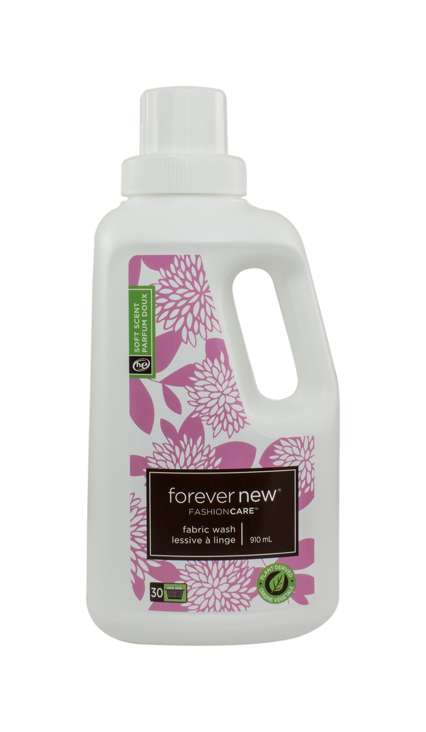 Fashion Care Laundry Detergent Liquid 32 oz High efficiency Delicate Natural Soft Scented