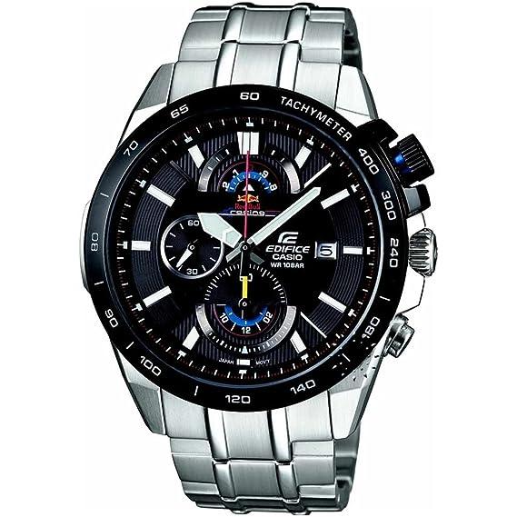 9f0306c64147 Casio Edifice Red Bull EFR-520RB-1AER Reloj para hombres Edición Muy  Limitada  Amazon.es  Relojes