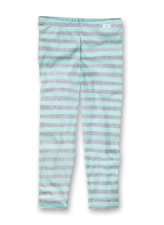 Sanetta Mädchen Lange Unterhose, gestreift 332567
