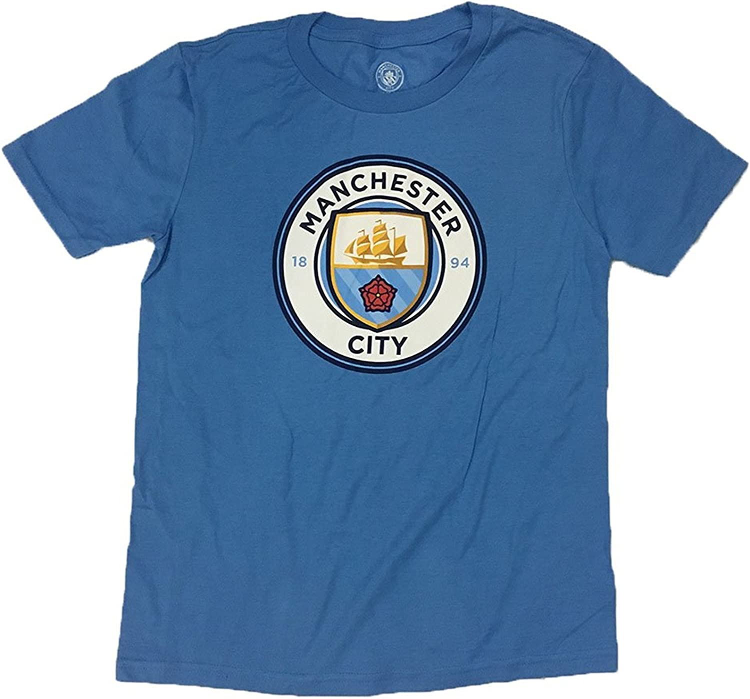 Dollaro Rudyard Kipling Monumentale  Amazon.com: adidas Manchester City Youth Crest Logo Shirt (X-Large) Blue:  Clothing