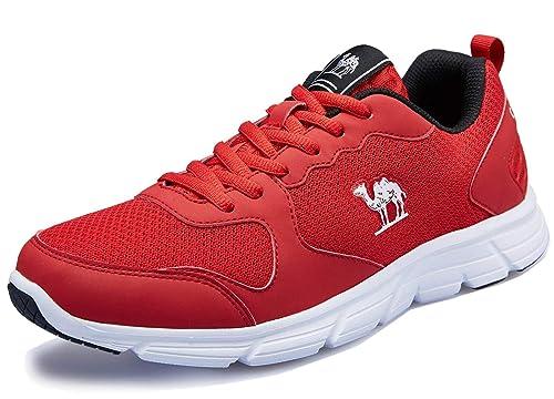 Camel Zapatillas Running para Hombre Aire Libre y Deporte Transpirables Casual Zapatos Gimnasio Correr Sneakers: Amazon.es: Zapatos y complementos