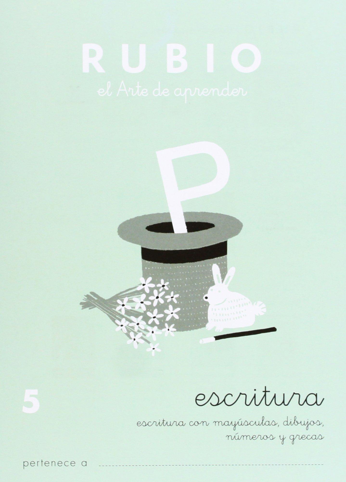 Rubio C-5 - Cuaderno caligrafía
