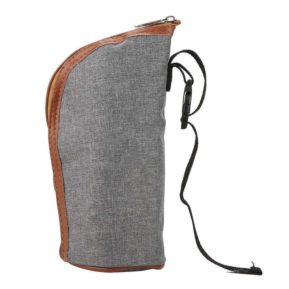 Bottle Warmer Bag, Portable Beverage and Baby Bottle Warmer Ideal for Car Travel, Shopping by Semme