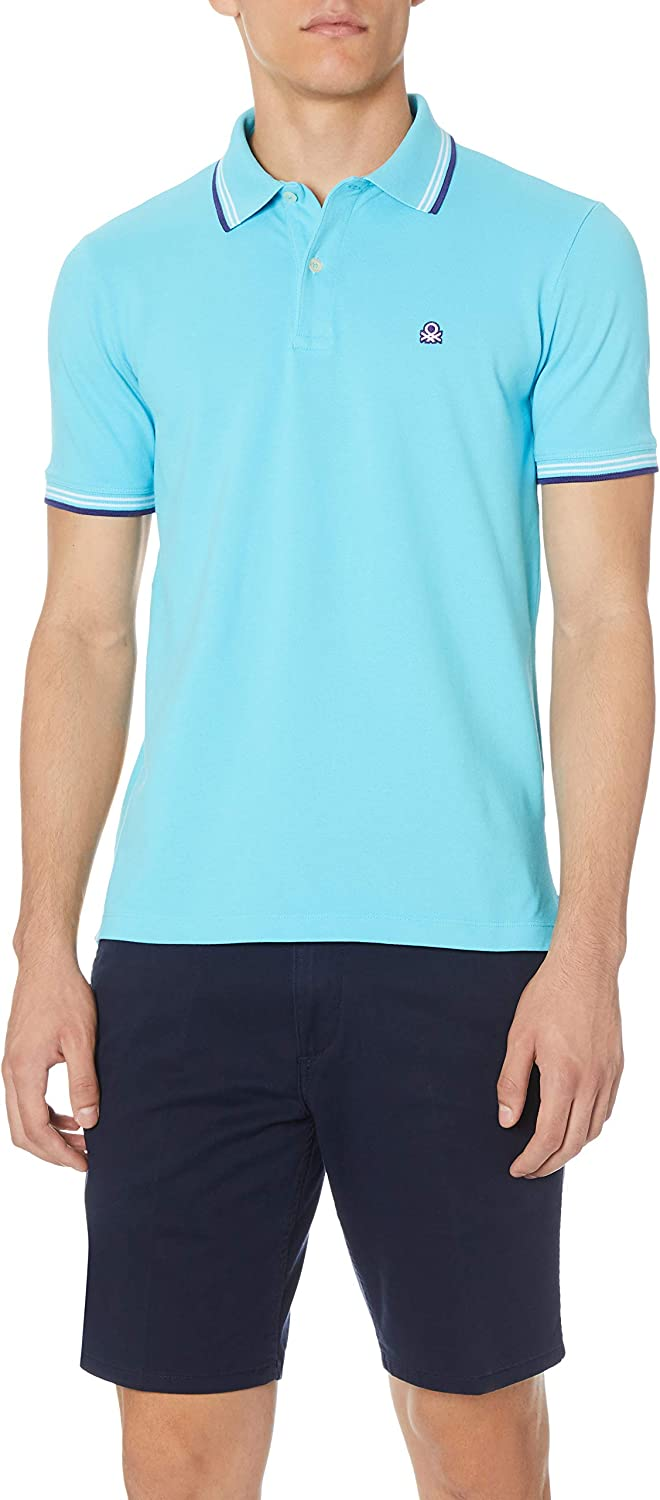 United Colors of Benetton H/s Polo Shirt, Azul (Azzurro 3f5 ...