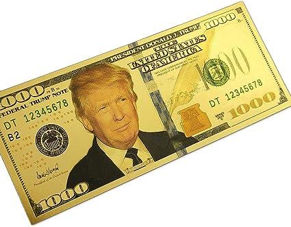 Fundraiser Wholesale 500 Lot Donald Trump Commander in Chief Million Dollar Bill