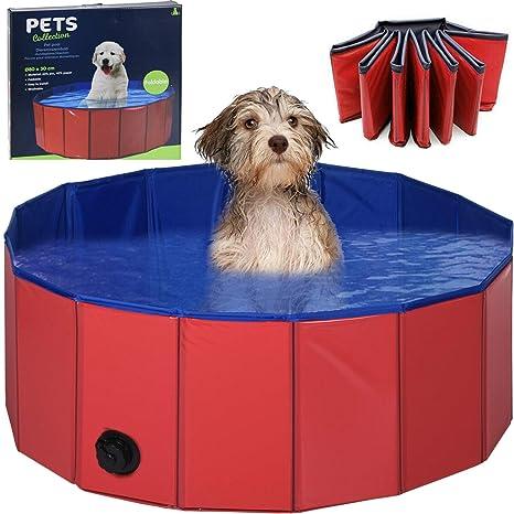 Piscina plegable para perros, piscina, piscina para perros, 80 cm ...