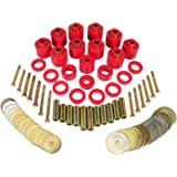 """Prothane 1-111 Red 1"""" Lift Body Mount for CJ5 and CJ7"""