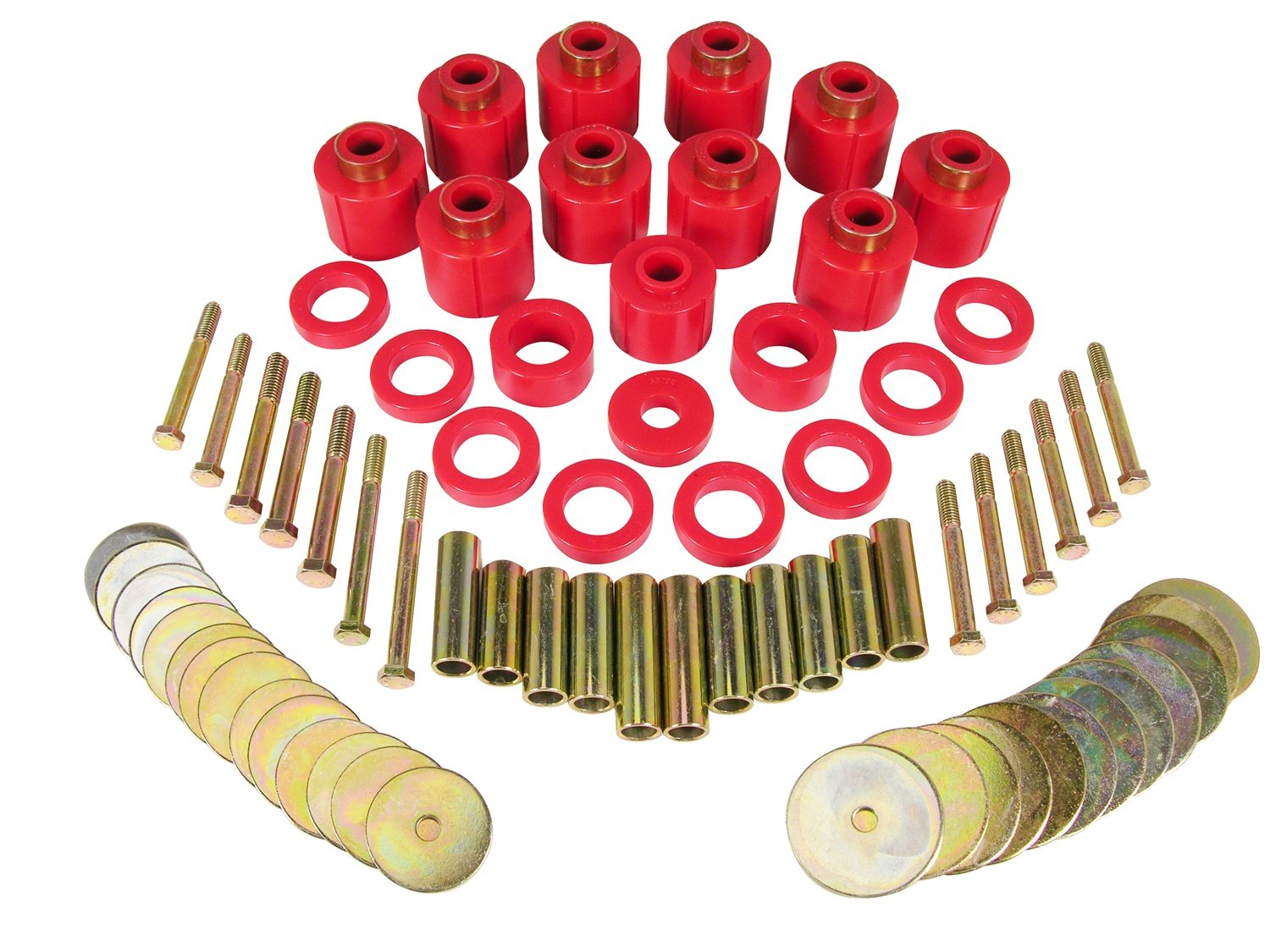 Prothane 1-111 Red 1' Lift Body Mount for CJ5 and CJ7