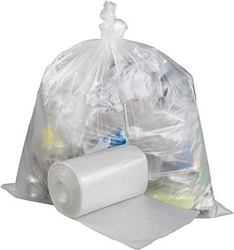 Pekky Sacs poubelle transparents 70 filspoubelle très