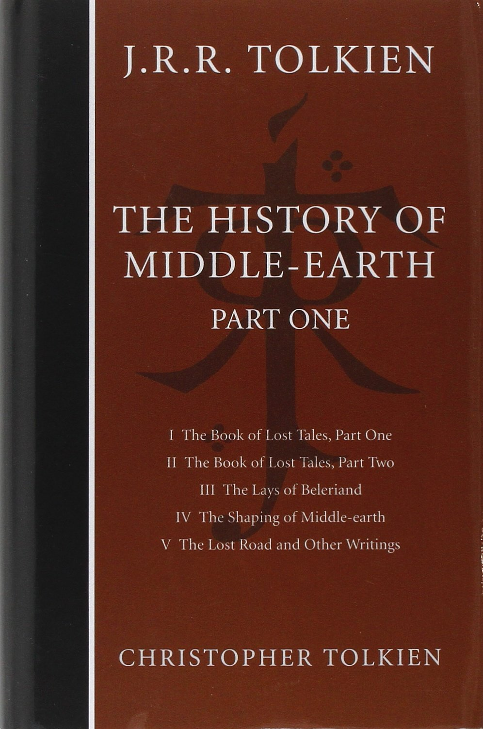 The History of Middle-earth: Part 1 (Pt.1): Christopher Tolkien, J. R. R. Tolkien: 9780007149155: Amazon.com: Books