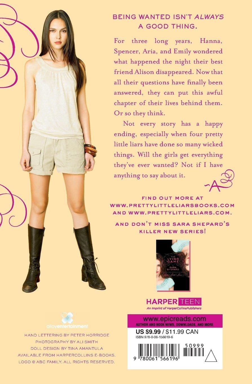 Wanted Sara Shepard Pdf